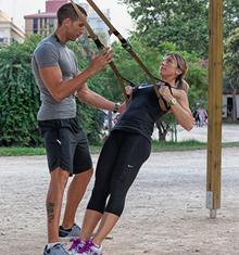 אימון TRX עם מאמן אישי